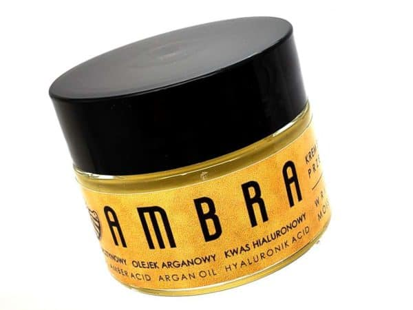 Natural Anti-Aging and Anti-Wrinkle Skincare Cream AMBRA by Imperial Time